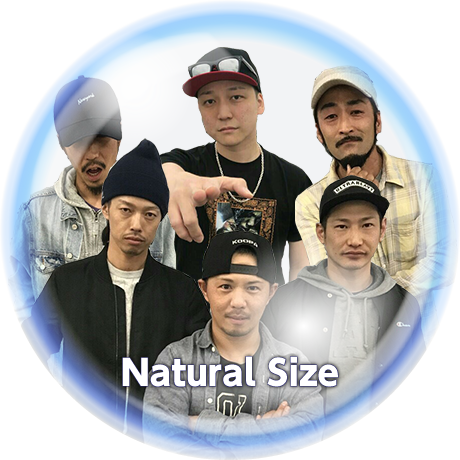 Natural Size